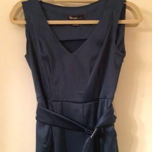 Blue v neck Kensie dress